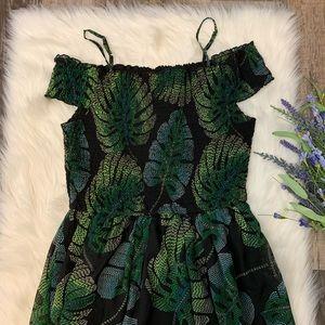 The Children's Place Dresses - Mommy & Me | Palm Leaf Maxi Dress